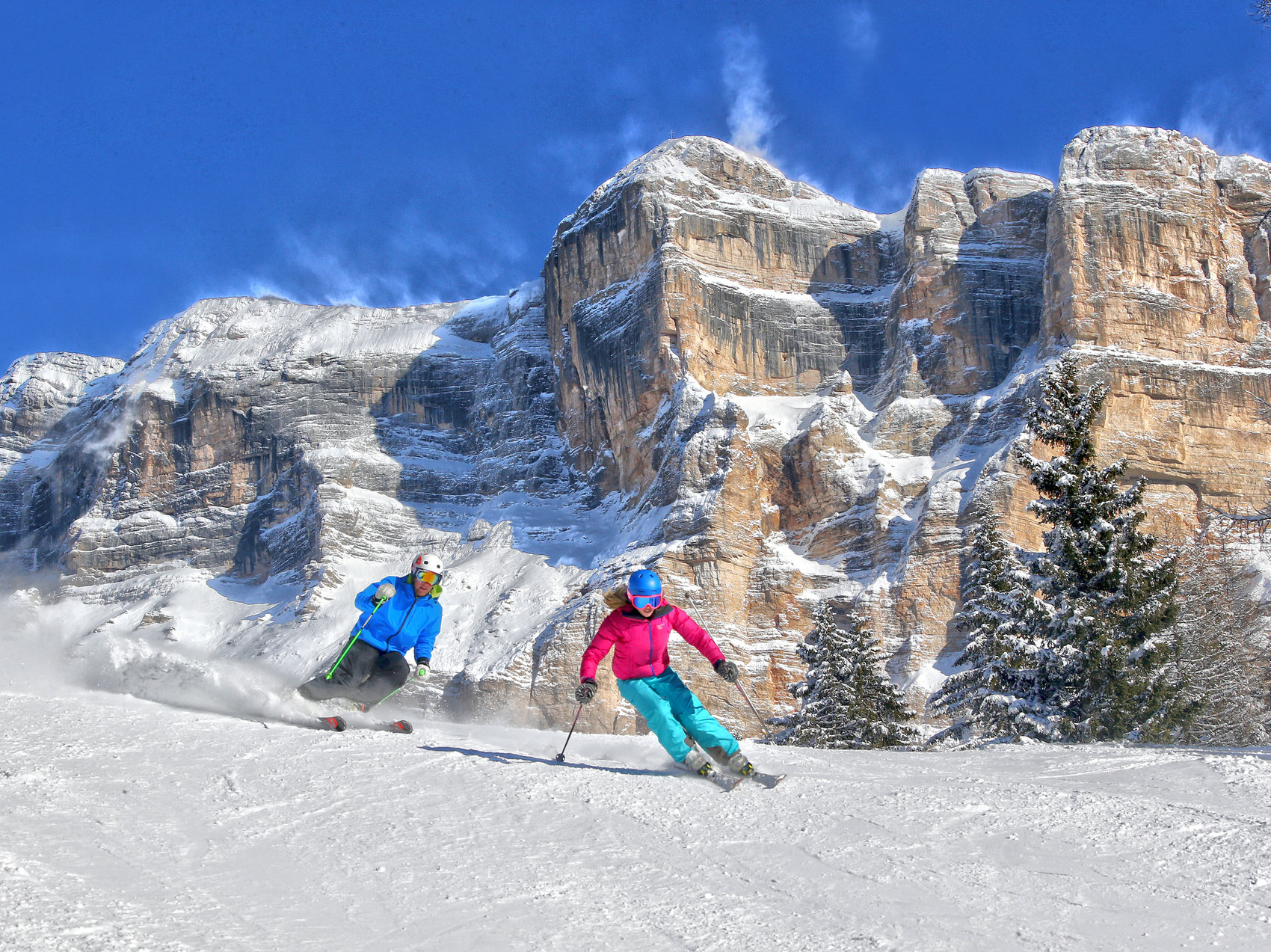 Dolomites Ski Week January
